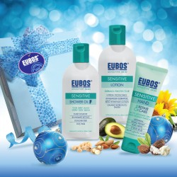 EUBOS Sensitive Step1 & 2 + HRC 75ml  (Premium Gift - Pack of 3)