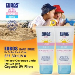 EUBOS HR UV PROTECTION & CARE SPF 30 + UVA 50ml x (2 tubes)
