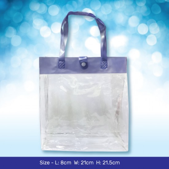 Transparent Gift Bag_Blue