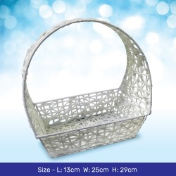 Decorative Basket_White Colour