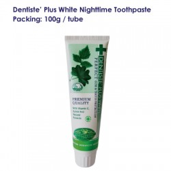 Dentise' Plus White Nighttime Toothpaste Tube_100G