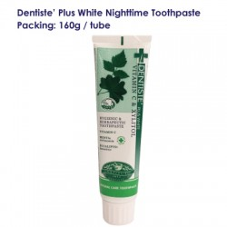 Dentise' Plus White Nighttime Toothpaste Tube_160G