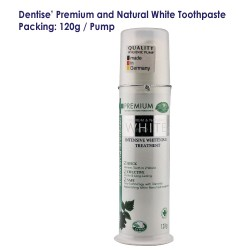 Dentise' Premium and Natural White Toothpaste Pump_120G