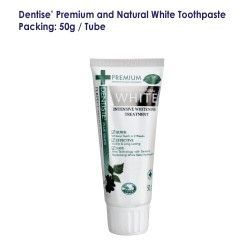 Dentise' Premium and Natural White Toothpaste Tube_50G