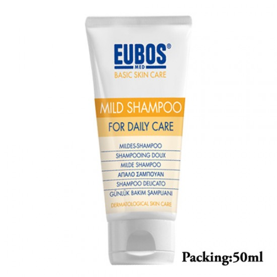 EUBOS MILD SHAMPOO FOR DAILY CARE 50ML/TUBE