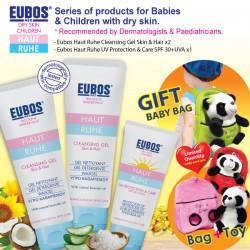 EUBOS HAUT RUHE Cleansing Gel + Sun Block