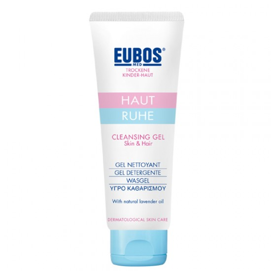 EUBOS BABY CLEANSING GEL SKIN & HAIR 125ML