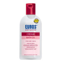 EUBOS BABY CREAM BATH OIL 200ML