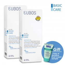 EUBOS CREAM BATH OIL_PACK OF TWO