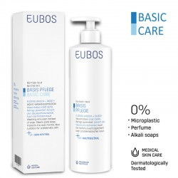 EUBOS LIQ WASHING EMUL Pump 400ml - BLUE