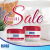 EUBOS Facial Cream Jar  50ml x 2 Jars