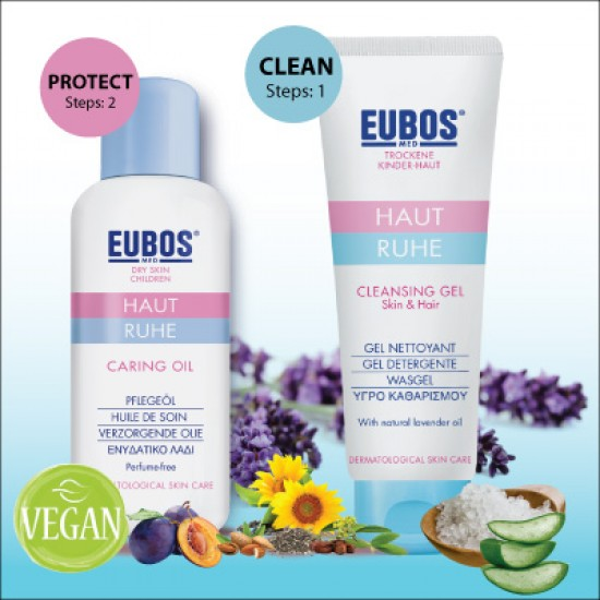 EUBOS Baby Cleansing Gel & Body OIl Promo Pack