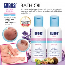 EUBOS Haut Ruhe Bath Oil 125ml x 2 bottles
