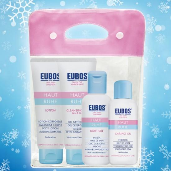 EUBOS Haut Ruhe Christmas Set FREE Boo Boo Bear