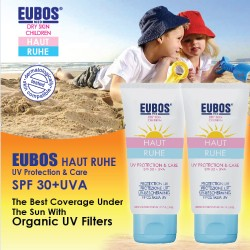 EUBOS Baby SunScreen SPF 30 UVA x 2 Tubes - PROMOTION (LESS coupon no HRUV-RM10 )