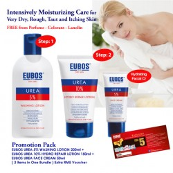 EUBOS UREA FACE & BODY CARE PROMO PACK