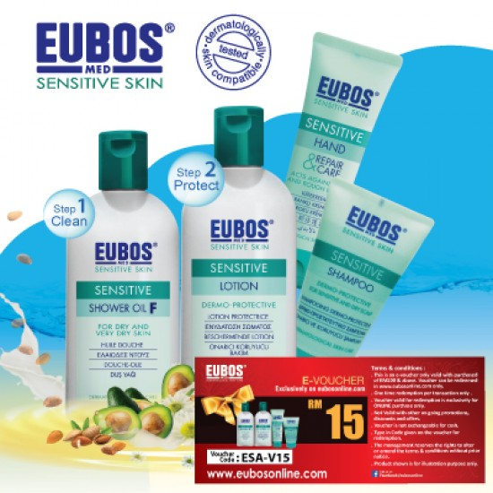 EUBOS SENSITIVE RANGE (4 IN 1 BUNDLE)
