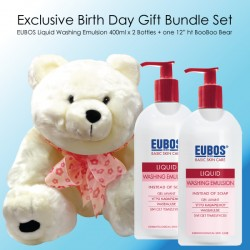 EUBOS LIQUID WASHING EMULSION-BIRTHDAY GIFT BUNDLE SET