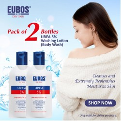 EUBOS Shower Gel (Urea 5% Washing Lotion 200ml x 2) Coupon code EGBW-C6