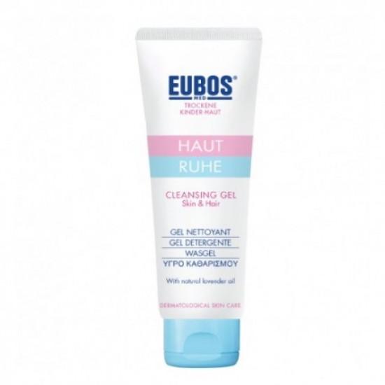 EUBOS HAUT RUHE CLEANSING GEL SKIN&HAIR 125ML