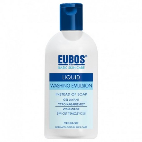 EUBOS LIQUID WASHING EMULSION 200ml (BLUE)