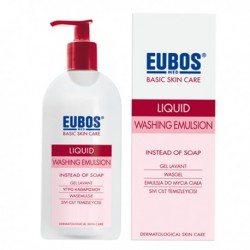 EUBOS LIQUID WASHING EMULSION Pump 400ml-RED