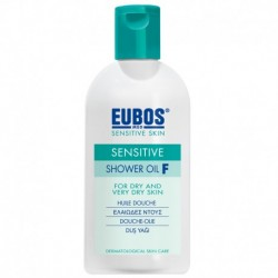 EUBOS SHOWER OIL-F  200ML  (Step-1)