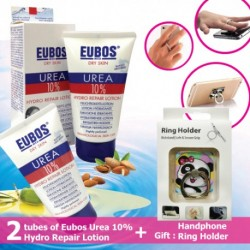 EUBOS UREA 10% HYDRO REPAIR LOTION SET