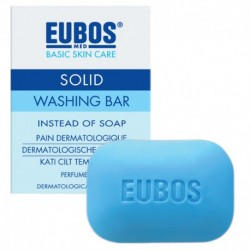 EUBOS WASHING BAR CLEANSER 125G -BLUE