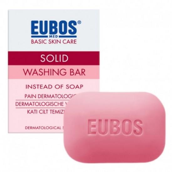 EUBOS WASHING BAR CLEANSER 125G (RED)
