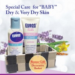 EUBOS BABY BATH OIL + LOTION (Gift Set)