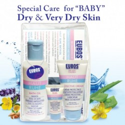 EUBOS HR BATH OIL+PROTECTIVE CREAM (2 IN 1 BUNDLE)
