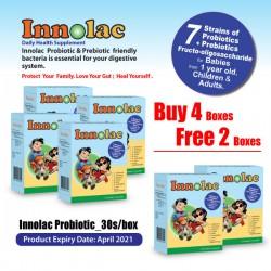 INNOLAC PROBIOTIC Buy 4 Free 2