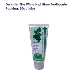 Dentise' Plus White Nighttime Toothpaste Tube_50G