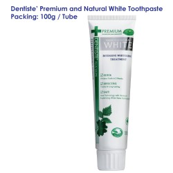 Dentiste' Premium and Natural White Toothpaste Tube_100g
