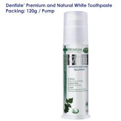 Dentiste' Premium and Natural White Toothpaste Pump_120g