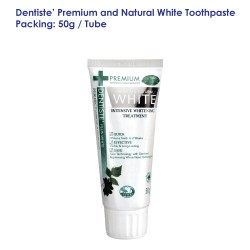 Dentiste' Premium and Natural White Toothpaste Tube_50g