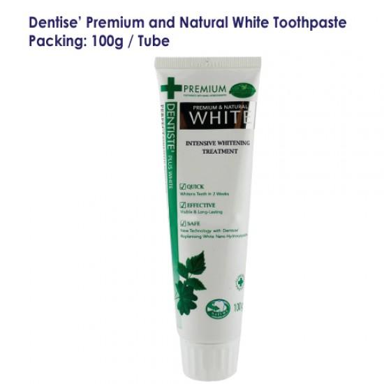 Dentise' Premium and Natural White Toothpaste Tube_100G