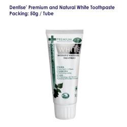 Dentise' Premium and Natural White Toothpaste Tube_50G