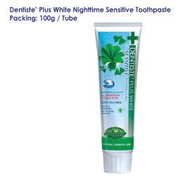 Dentiste' Plus White Nighttime Sensitive Toothpaste Tube_100g