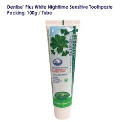 Dentise' Plus White Nighttime Sensitive Toothpaste Tube_100G